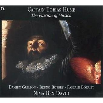T. Hume - Kapitän Tobias Hume: The Passion of Musick [CD] USA import