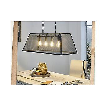 Eglo Amesbury Mesh Box Breakfast Bar Ceiling Light