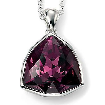 925 sølv Swarovski krystal halskæde tendens