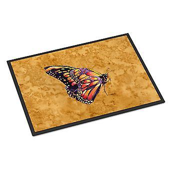 Carolines schatten 8858JMAT vlinder op goud Mat voor Indoor of Outdoor 24 x 36 deur