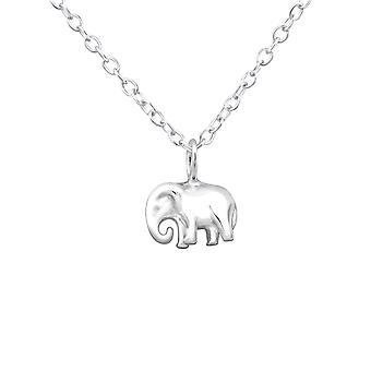 Elephant - 925 Sterling Silver Plain Necklaces - W32229x