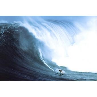 Riding Giants - Laird Hamilton Poster Poster Print