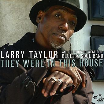 Larry Talyor - They Were in This House [CD] USA import