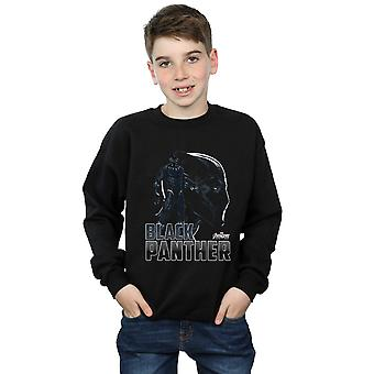 Wonder Boys Avengers Infinity War Black Panther karakter Sweatshirt
