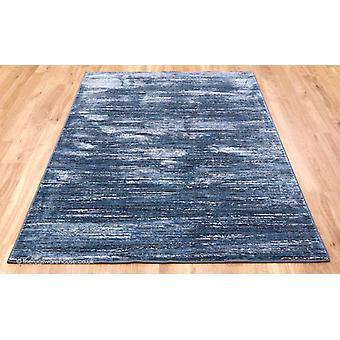 Strata raidat sininen matto