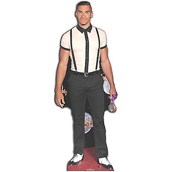Louis Smith Life-sized cardboard cutout