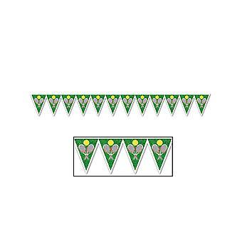 """Tenis Pennant bandera 11 """"x 7' 4"""""""