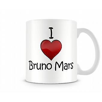 Я люблю Бруно Марс печатных кружка