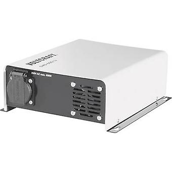 VOLTCRAFT Inverter SWD-600/12 600 W 12 V DC - 230 V AC Remote operation