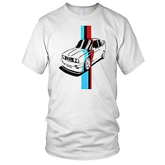 BMW M3 Pop Art voiture Mens T Shirt