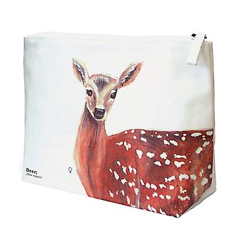 Deer Wash Bag - Ecologie Wild Animals Range by Gift Republic