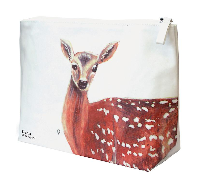 Cerf Wash Bag - Ecologie Animaux Sauvages Range par la République cadeau