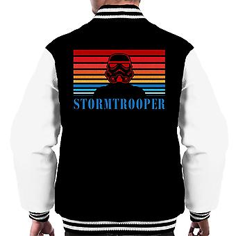 Original Stormtrooper Retro 70s Logo Men's Varsity Jacket