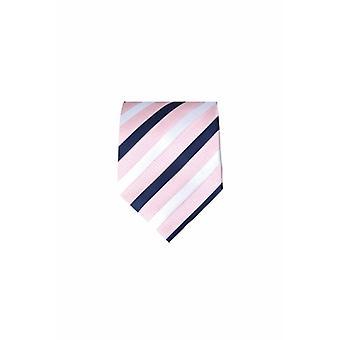 Cravate rose M01