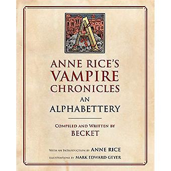 Anne Rices vampyr krönikor en Alphabettery