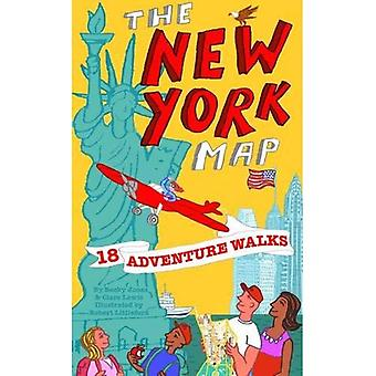 Adventure Walks New York Map: Sightseeing Walks for Families (Adventure Walks World City Map Series)