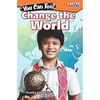 U kunt ook! Verander de wereld (niveau 4) (verkennen lezing)