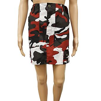 New Combat Military Vintage Style Camo Mini Skirt