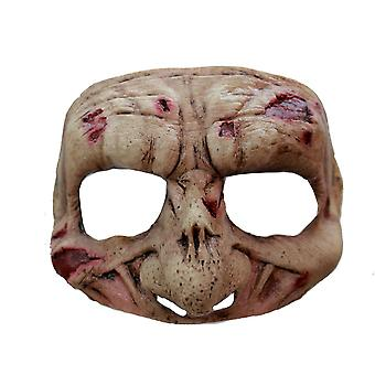Zombie Latex Half Mask For Halloween