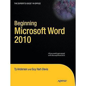 Inizio Microsoft Word 2010 da Anderson & Ty