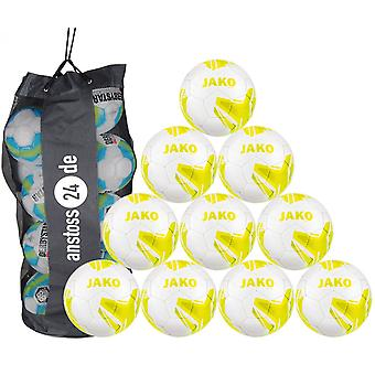 10 x James youth ball striker 2.0 MS includes ball sack