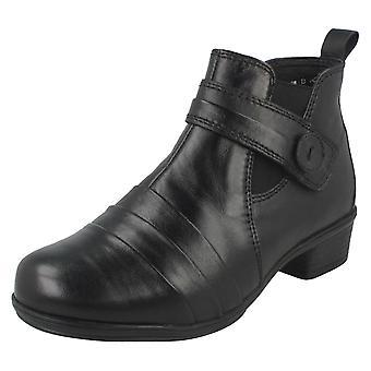 Ladies Casual Ankle Boots Fleur