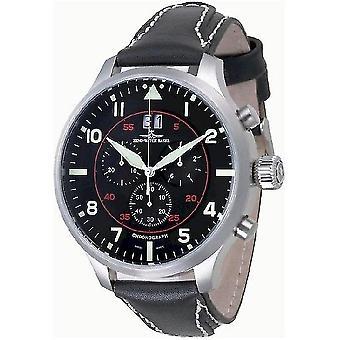 Zeno-Watch Herrenuhr Super Oversized Chrono Navigator 6221N-8040Q-a17