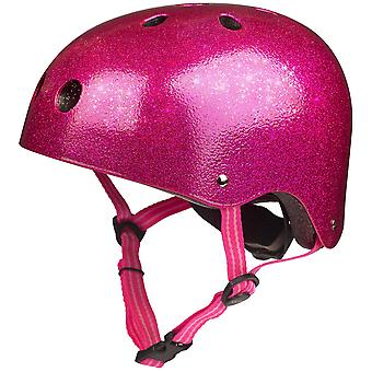 Micro Scooters Glitter Pink Helmet
