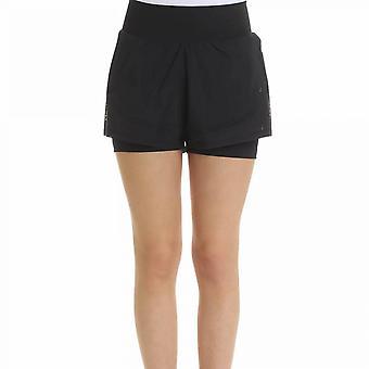 Adidas By Stella Mccartney Dz0414 Women's Black Cotton Shorts