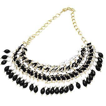 Mesdames coloré cristal aztèque style bijou déclaration collier en cristal Swarovski