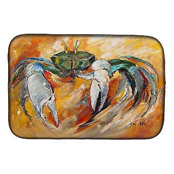 Carolines Treasures  JMK1108DDM Blue Crab Dish Drying Mat