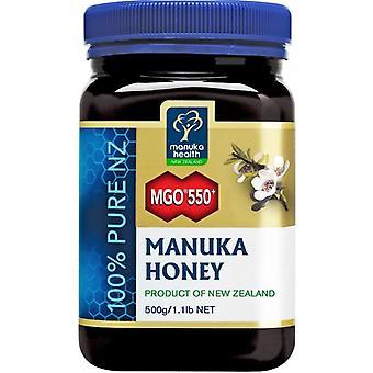 Manuka Health MGO 550+ Pure Manuka Honey 500g (MAN022)