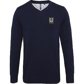 Lowland Band Of The Scottish Veteran - Licence British Army Embroidered Jumper