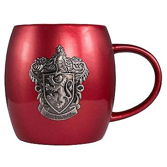 Harry Potter Gryffindor Metallic Crest Mug