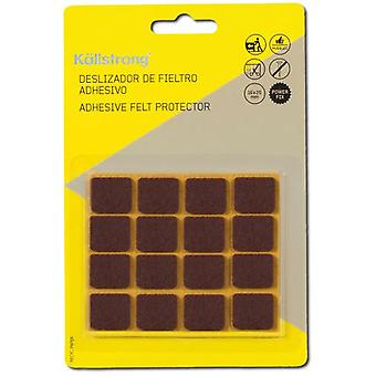 Kallstrong Sliders 16 X 20 Mm. Adhesive F17003M (DIY , Hardware)