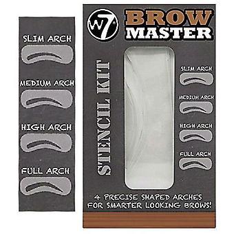 W7 Brow Master sjablong Kit