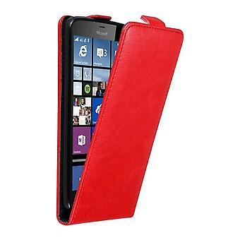 Cadorabo Hülle für Nokia Lumia 640 XL Case Cover - Handyhülle im Flip Design mit Magnetverschluss - Case Cover Schutzhülle Etui Tasche Book Klapp Style