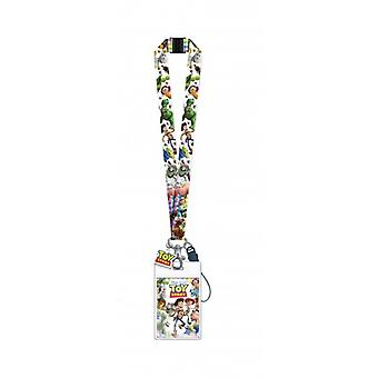 Lanyard - Disney - Toys Story w/Soft Touch Dangle New 29698
