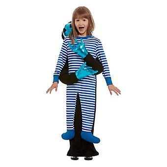 Childrens Alien bortførelse fancy kjole kostume
