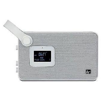 Kitsound air dab/fm/bluetooth radio despertador - blanco