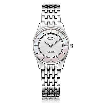 Rotary LB08300-07 Women's Ultraslim Wristwatch