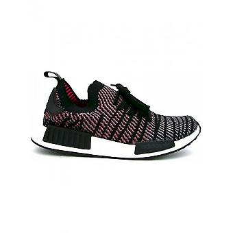 Adidas - Shoes - Sneakers - CQ2386_NMD-R1_STLT_BLACK-PINK - Unisex - black,pink - 9.0