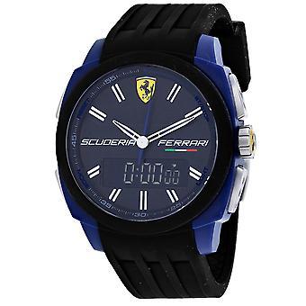 Ferrari Men's Aerodinamico Black Dial Watch - 830149