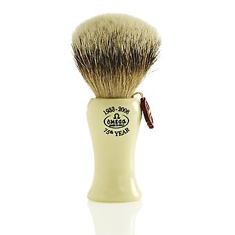 Omega 6619 Silvertip Badger Hair Shaving Brush