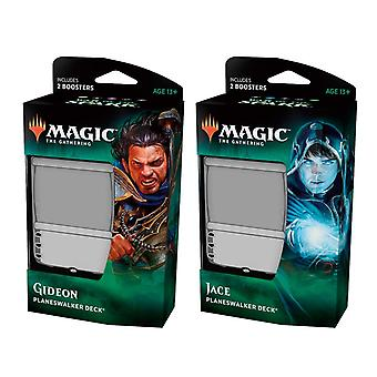 MTG Magic The Gathering War of The Spark-Planeswalker Deck Display (Pack of 6)