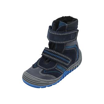 Judge Ankle Boots Kids Boys Boots Blue Lace Boots