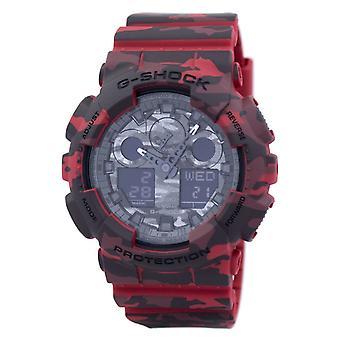 Casio G-Shock Camuflar Série Analog-Digital GA-100CM-4A GA100CM-4A Men's Watc