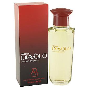 Diavolo eau de toilette spray by antonio banderas 425860 100 ml