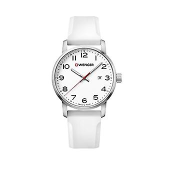 Wenger Quartz analogue watch Unisex Silicone wrist watch 01.1641.106