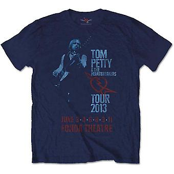 Tom Petty en de Heartbreakers Tour 2013 officiële T-shirt